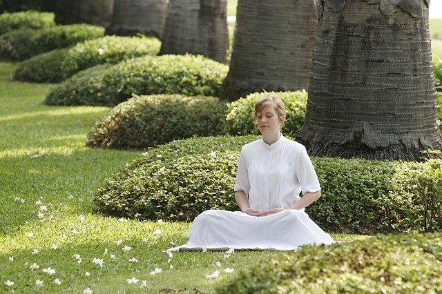 Trance-Zustand der Meditation